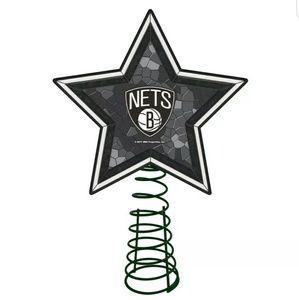 NBA Brooklyn Nets tree topper
